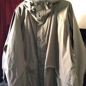 LL Bean Outdoor Trail Model Raingear Jacket